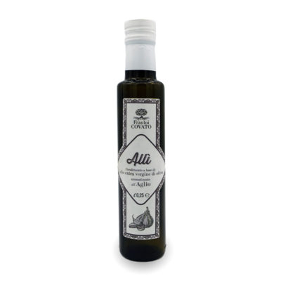 Olio extravergine oliva aromatizzato Aglio