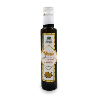 Olio extravergine oliva aromatizzato Arancia