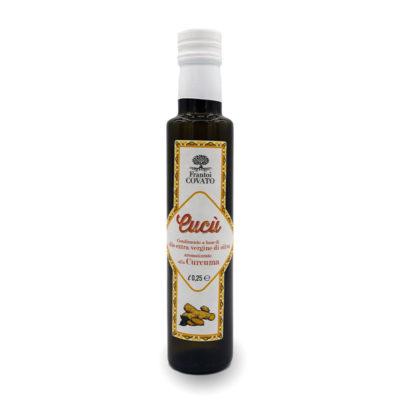Olio extravergine oliva aromatizzato Curcuma