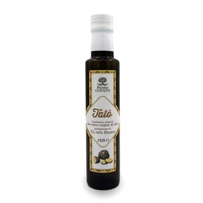 Olio extravergine oliva aromatizzato Tartufo Bianco