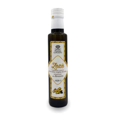 Olio extravergine oliva aromatizzato Zenzero